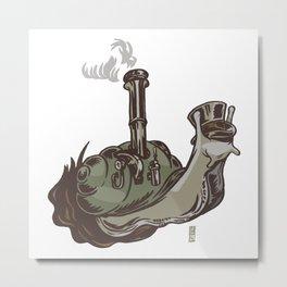 Industrial Age Speed Metal Print