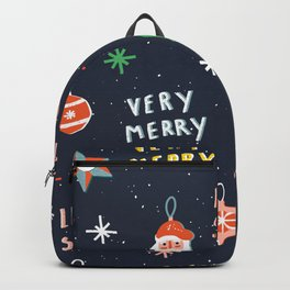 Christmas Ornaments Backpack