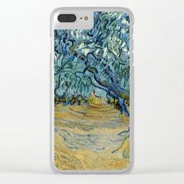 "Vincent Van Gogh ""The Olive Trees, Saint-Rémy"" Clear iPhone Case"