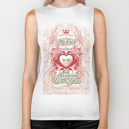 Awesome With You Biker Tank