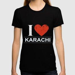 I Love Karachi T-shirt