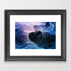 Cold Love Framed Art Print
