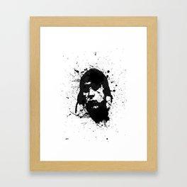 False Identity  Framed Art Print