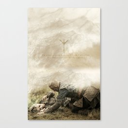 Gates To Valhalla Canvas Print