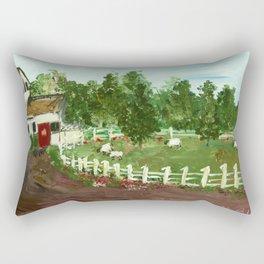Ash Mill Farm Rectangular Pillow