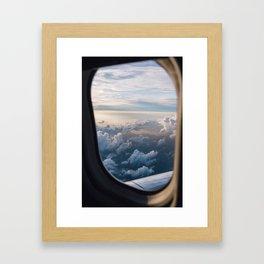 Break Through The Clouds Framed Art Print