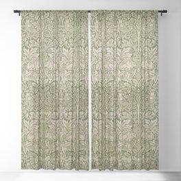 "William Morris ""Brer rabbit"" 4. Sheer Curtain"