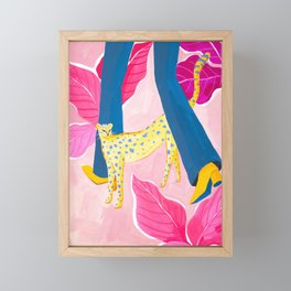 Come along with Me Framed Mini Art Print