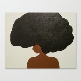 Afro Love Canvas Print
