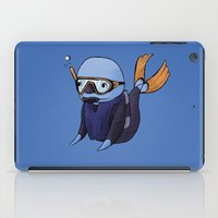scuba iPad Cases featuring Scuba Whale by CoolBreezDesigns