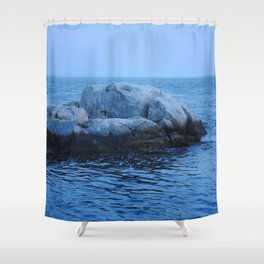 Rock Set Shower Curtain