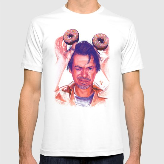 Steve Buscemi and donuts T-shirt