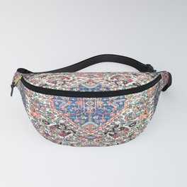 Bakhtiari Central Persian Rug Print Fanny Pack