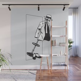 Coat Rack Wall Mural