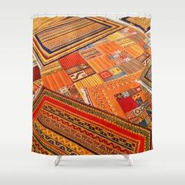 Turkish rugs in Kusadasi Shower Curtain
