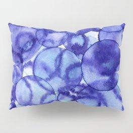Purple Bubbles Pillow Sham