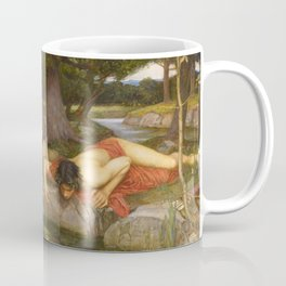 John William Waterhouse - Echo and Narcissus Coffee Mug