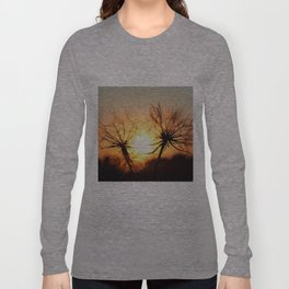 sunset in august Long Sleeve T-shirt