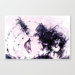 Rage and Serenity Canvas Print