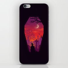 To The Grave iPhone & iPod Skin