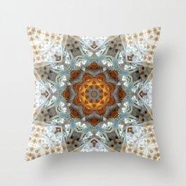 Sagrada Familia - Mandala Arch 1 Throw Pillow