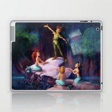 The Mermaid Lagoon-Peter Pan Laptop & iPad Skin