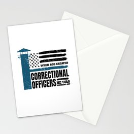 Correctional Officers American Christian Stationery Cards