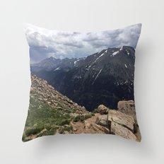 Terra Tomah - Rocky Mountains Throw Pillow