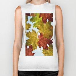 Autumn Leaf Brite Biker Tank