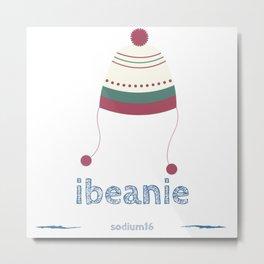 ibeanie Metal Print