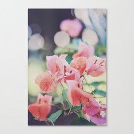 Floral Vintage Canvas Print
