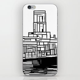 Tower at the sea iPhone Skin
