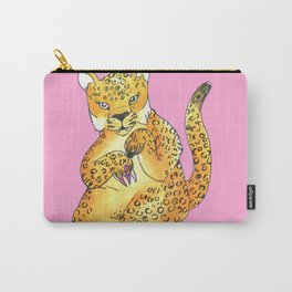 jaguar painting nails Carry-All Pouch