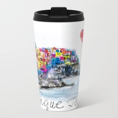 I love Cinque terre Metal Travel Mug