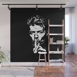 Silence - Tribute to Bowie Wall Mural