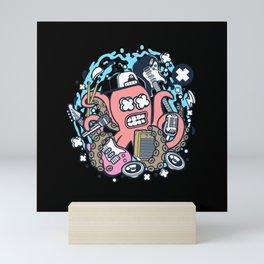 ROCK OCTOPUS Mini Art Print