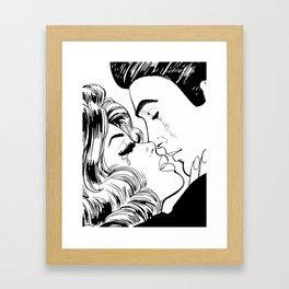 bad romance V Framed Art Print