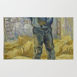 The Thresher (after Millet) Rug