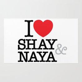 I Heart Shay & Naya Rug