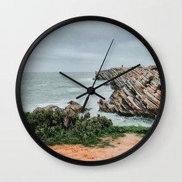 Peniche in Central Portugal Wall Clock