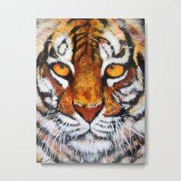 Wildlife Painting Series 4 - Bengal Tiger Metal Print