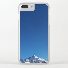 Montchavin Clear iPhone Case