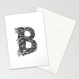 The Illustrated B Stationery Cards