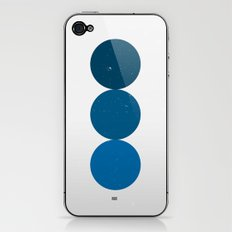 blue i 001 iPhone & iPod Skin