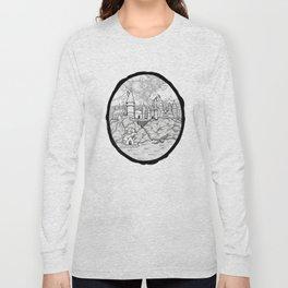 Hogwarts Is My Home (Potter Fan Art) Long Sleeve T-shirt