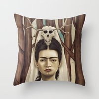 FRIDArk Throw Pillow