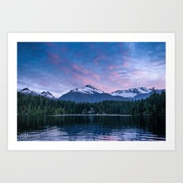 Levette Sunset Art Print