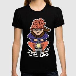 Crazy Moto Grandma T-shirt