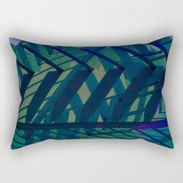 Gazebo Shade [blue] Rectangular Pillow
