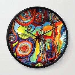 Colorfulness 1 Wall Clock